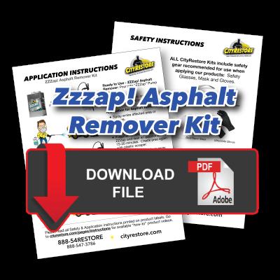 Super Concrete Remover Kit Application Instructions