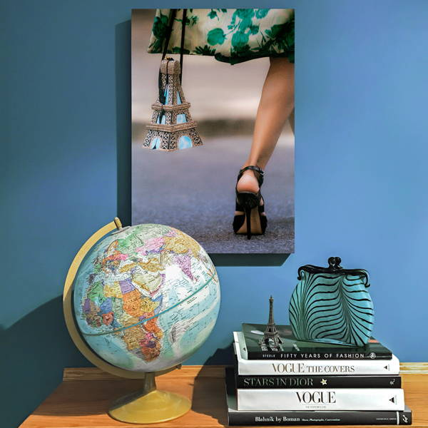 Recoveted Fashion Wall Art - Take Me To Paris