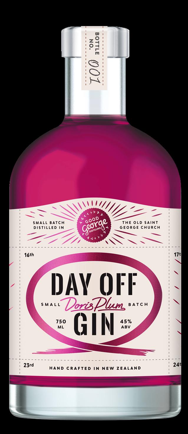 Good George Day Off Doris Plum Gin