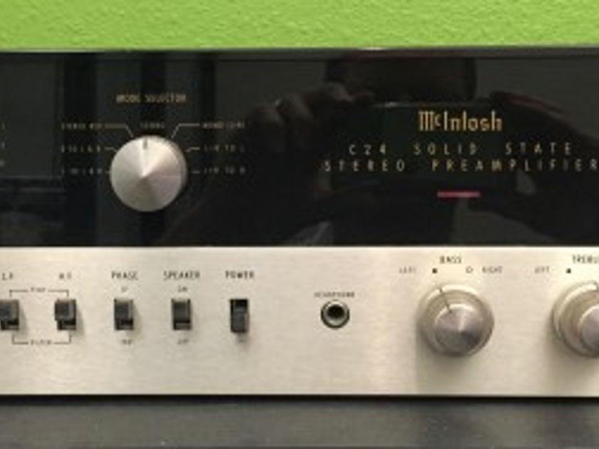 McIntosh C24 Preamplifier Pearl Audio, Portland OR