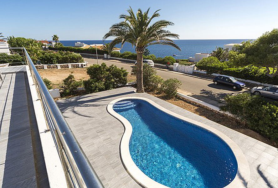Mahón - Villa for sale in Es Canutells with pool and beautiful sea views in Menorca