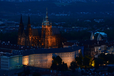 Вечерняя Прага: Тайны Вышеграда и Пражского Града