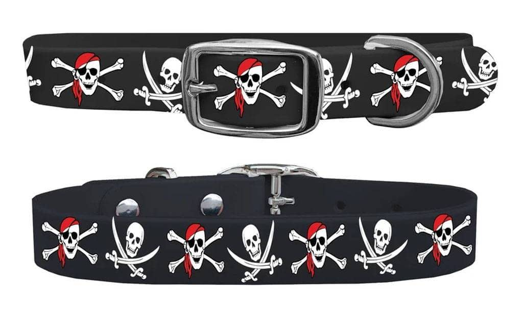 Pirate c4 dog collar