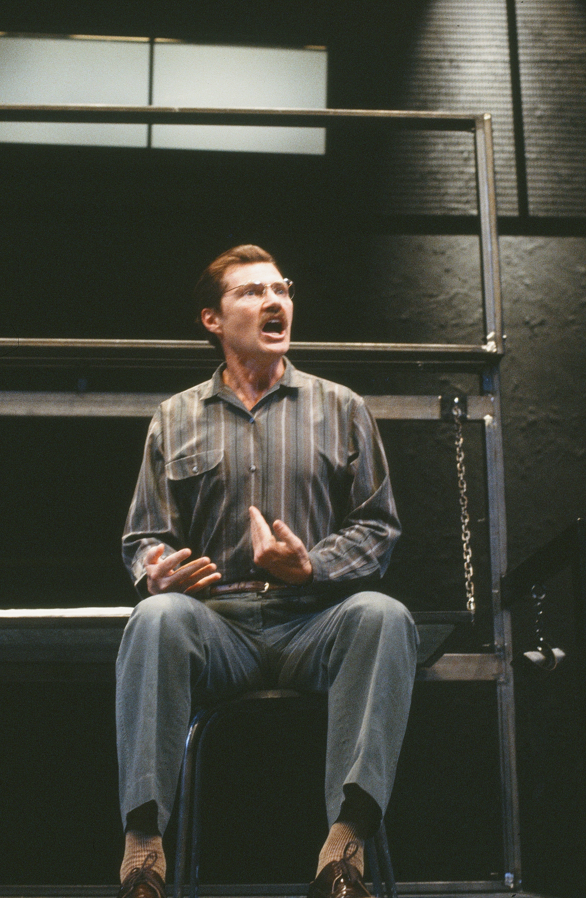 "Andrew J. Robinson in <em class=""notranslate"">Belly of the Beast</em> <br> Courtesy of Center Theatre Group"