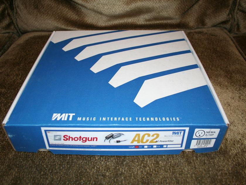 MIT Shotgun AC 2 -- w/ 20 amp iec 2m  (see pics)