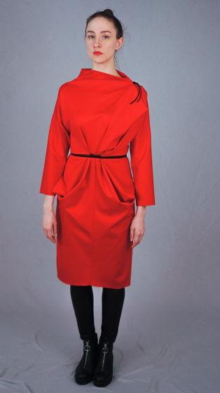 платье трансформер | алое