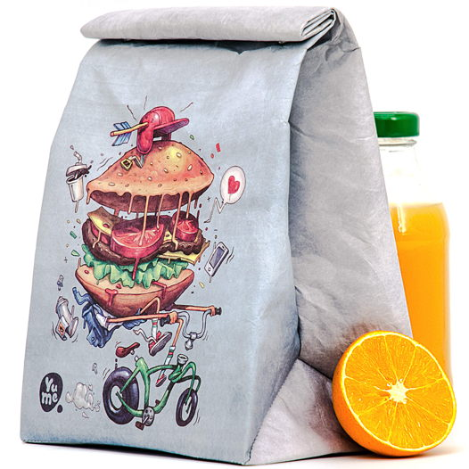 "Термосумка Youshi Lunch Bag ""Bikeburg"" от YuMe"