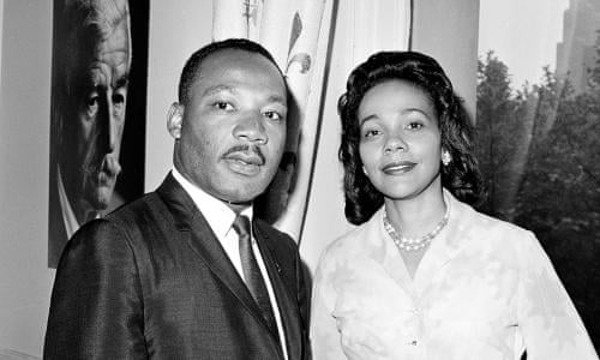 Dr. Martin Luther King, Jr. and Coretta Scott King