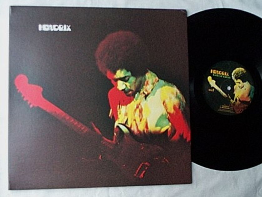 Jimi Hendrix LP-Band of gypsys- - special 1997 pressing album on  Experience Hendrix label