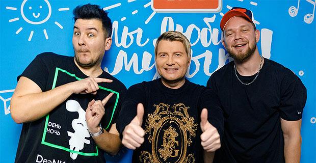 Впервые у Красавцев Love Radio побывал неподражаемый Николай Басков - Новости радио OnAir.ru