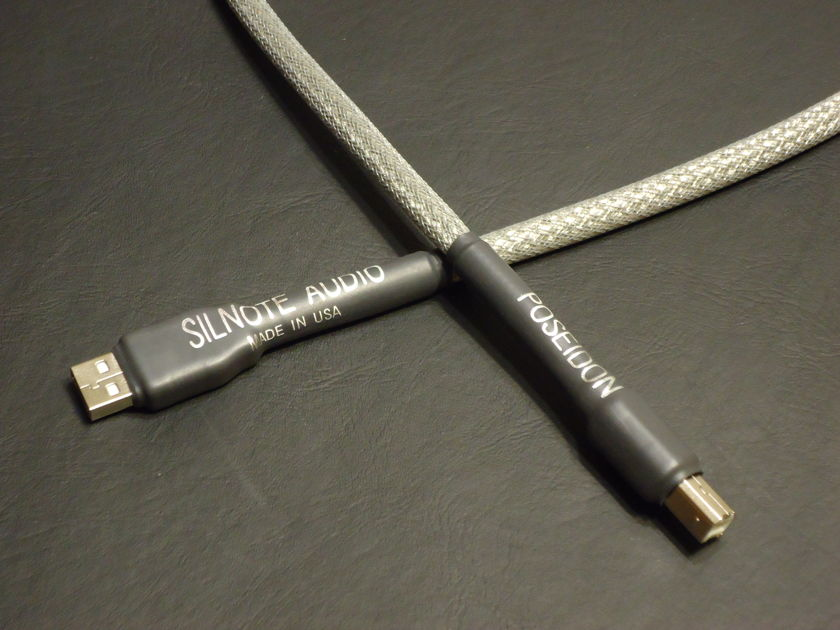 SILNOTE AUDIO CABLES at AXPONA 2012  Poseidon Silver Reference USB 1 meter  Awesome Reviews on SILNOTE AUDIO CABLES !!