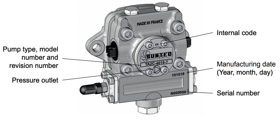SUNTEC TA Series Pump