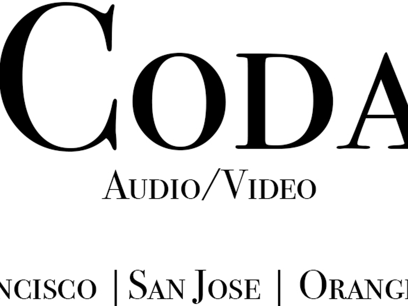 Looking to purchase all high end used equipment. Electronics, Speakers, DACS, and Cables. Coda Audio Video