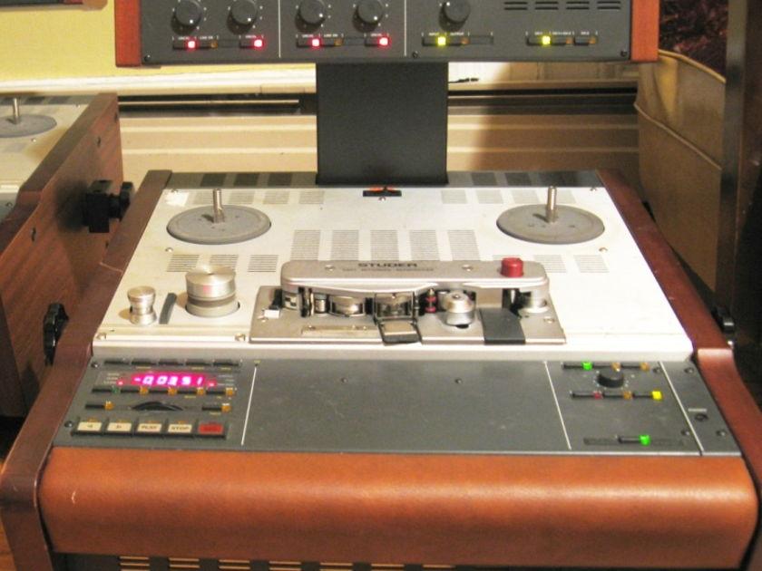 "Studer/Revox A807 professional Open Reel, 1/4"", 2 track recorders/reproducers"