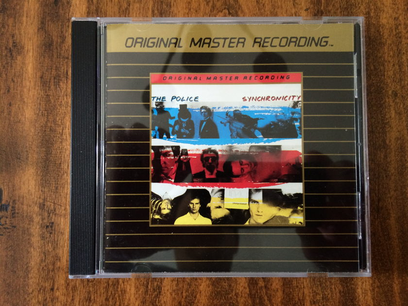 "The Police ""Synchronicity"" - MFSL GOLD CD - Mobile Fidelity Sound Labs Ultradisc - UDCD 511"