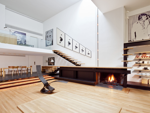 Designer Halston's iconic Manhattan townhouse by architect Paul Rudolph sold