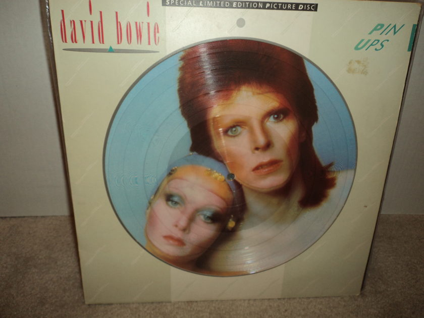 David Bowie (Picture Disc) - Pin-Ups limited pressing Mint