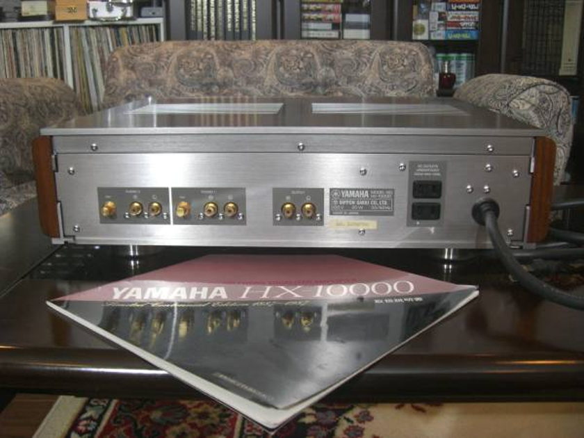 VINTAGE YAMAHA  HX-10000 PHONO AMP 100TH ANNIVERSARY MODEL ULTRA RARE PHONO AMPLIFIER