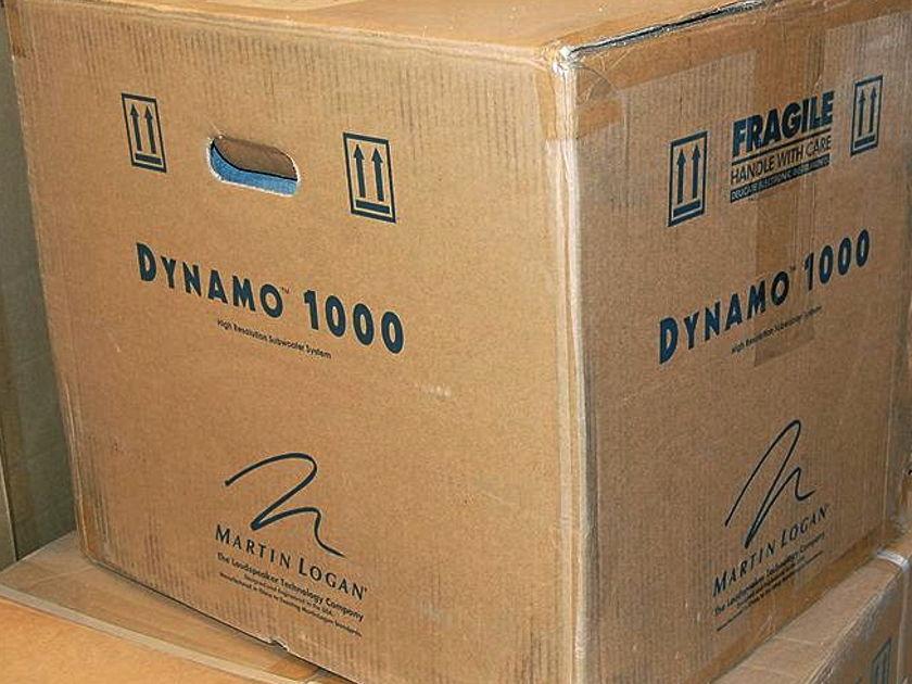 Martin Logan Dynamo 1000 Brand New / Full Warranty
