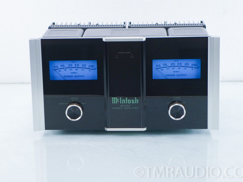 McIntosh MC252 Stereo Power Amplifier; MC-252 (9839)