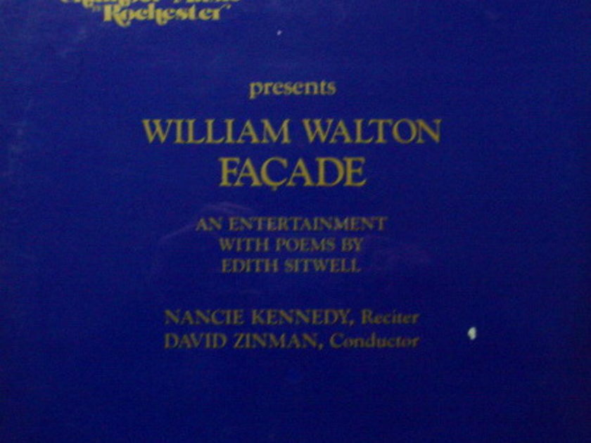 ★Sealed★ Society for Chamber Music / - ZINMAN, Walton Façade!