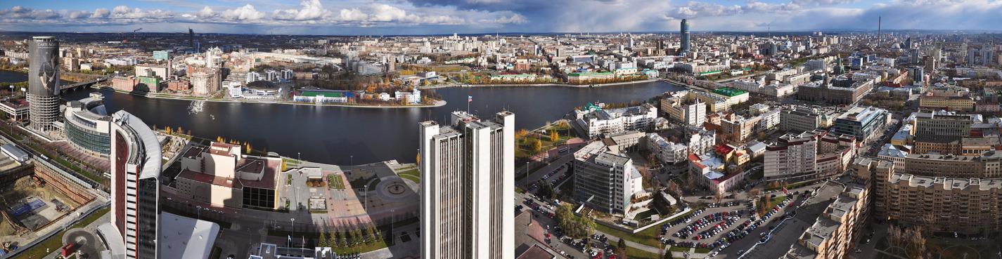 Обзорная пешеходная экскурсия по Екатеринбургу