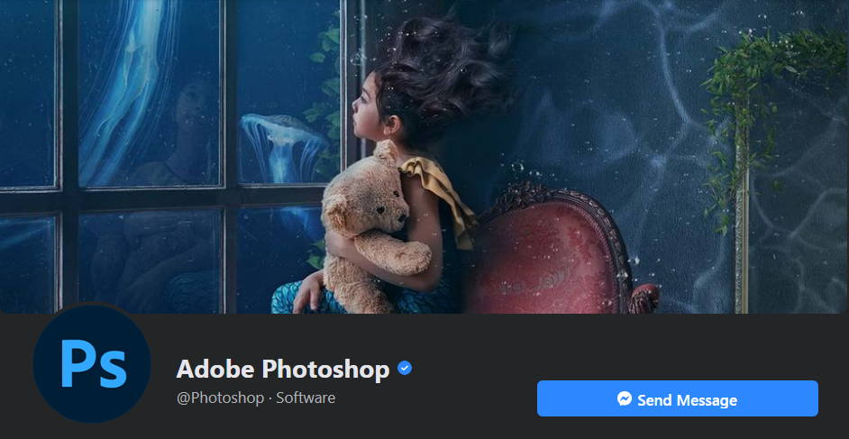 Photoshop's Facebook cover photo