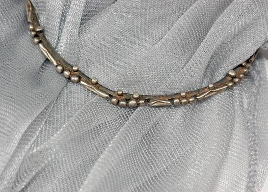 Старый марокканский серебряный браслет