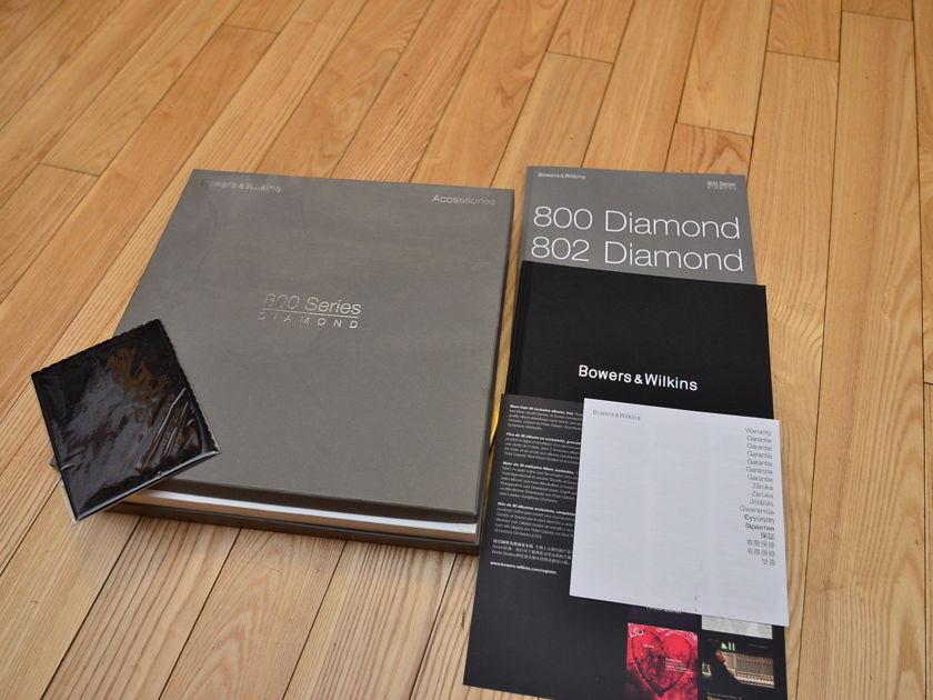 Bowers & Wilkins 802 Diamond 2nd Gen (B&W D2C) Nautilus Cherry 9/10