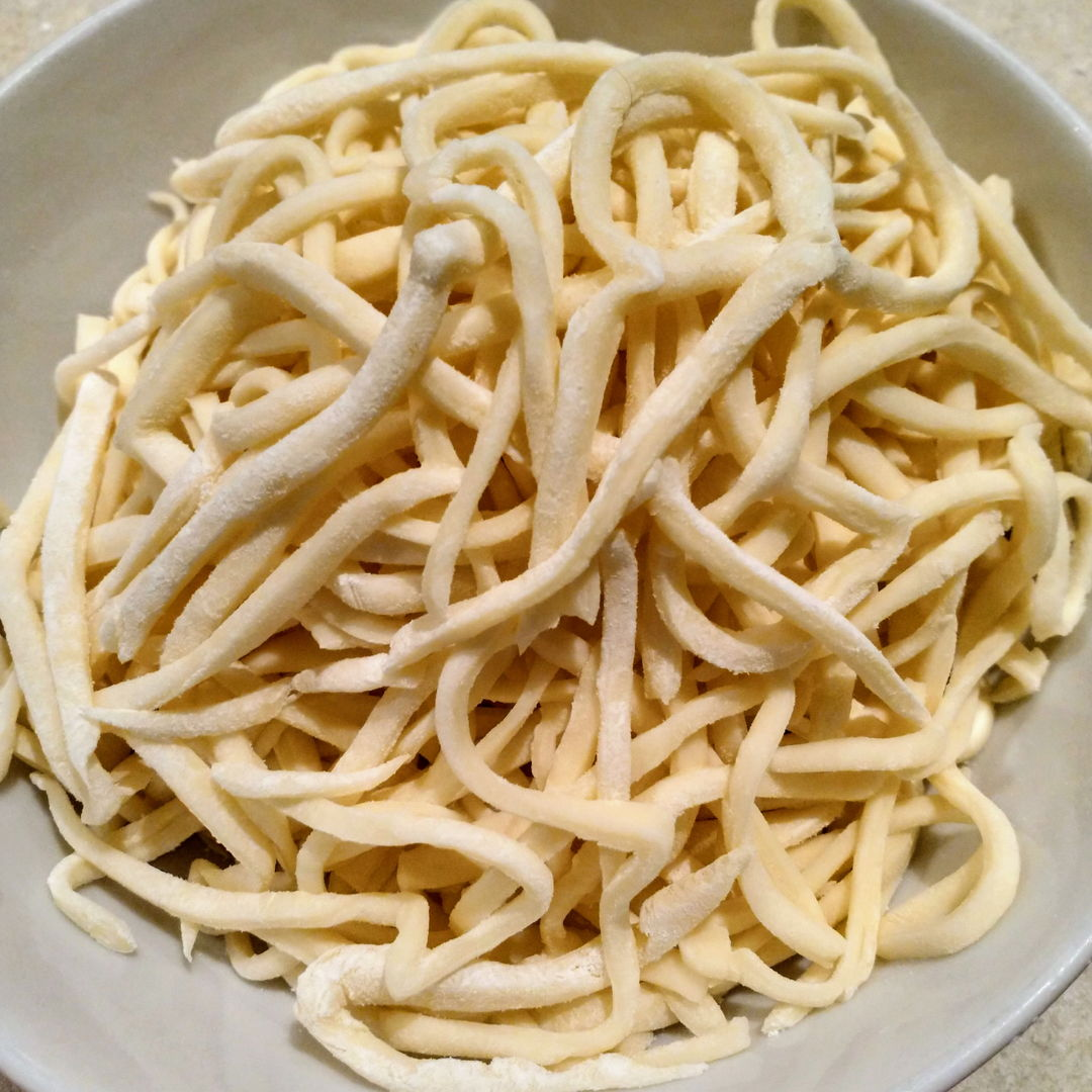"I prepared these using ""00"" flour, which produced a deliciously soft and springy noodle."