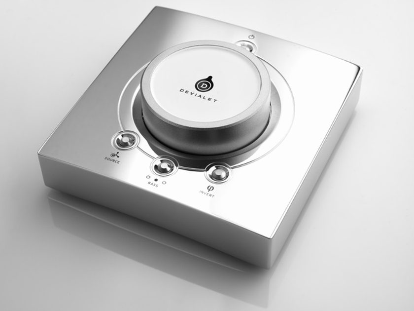 DEVIALET 250 DAC/Integrated  Amplifier (Black Chrome); New in Box; Full Warranty; 64% Off; Free Shipping