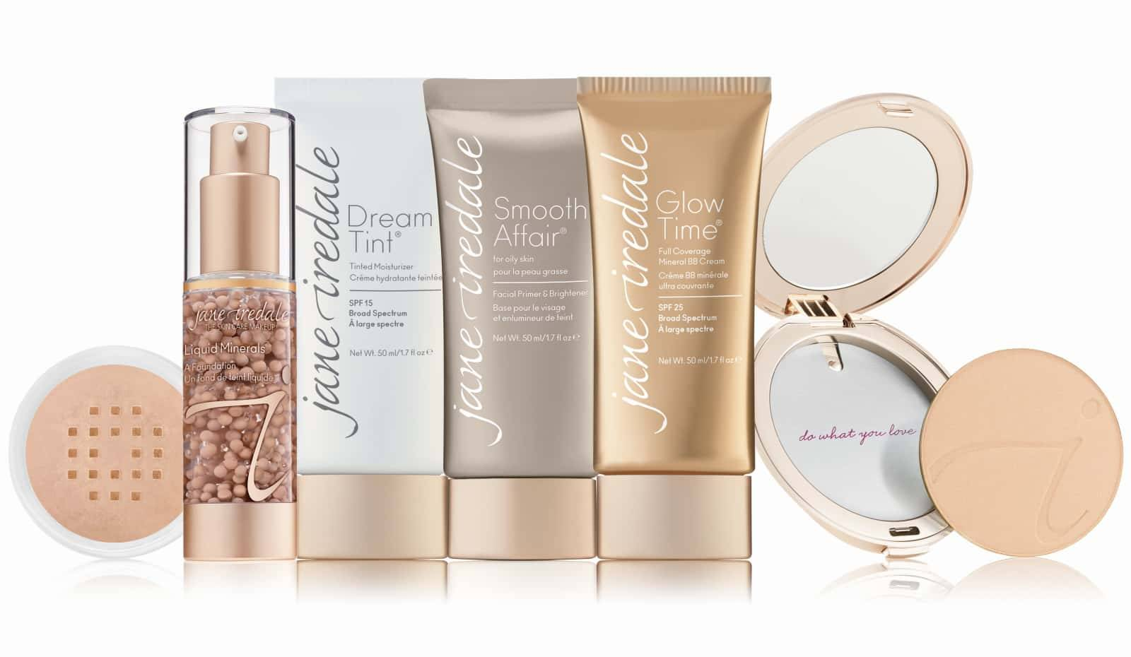 Jane Iredale Foundation Shade Match Finder Quiz - available at Thai-Me Spa in Hot Springs, AR
