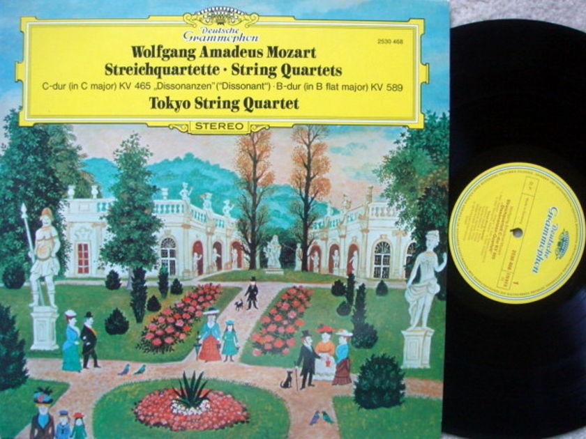 DG / TOKYO QT, - Mozart String Quartets KV.465 & 589, NM!