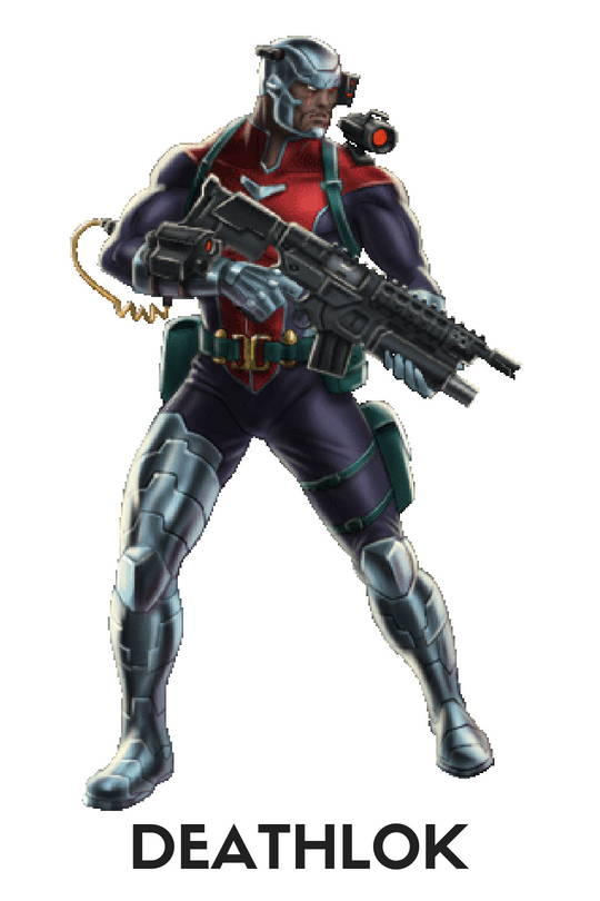 Deathlok Action Figures, Toys, Bobbleheads, Pops, Statues, Keychains, Wallets, Mobile Phone Cases, Laptop Skins, T-shirts, mugs and more, free shipping across India