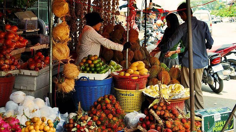 Fruit market, Cambodia
