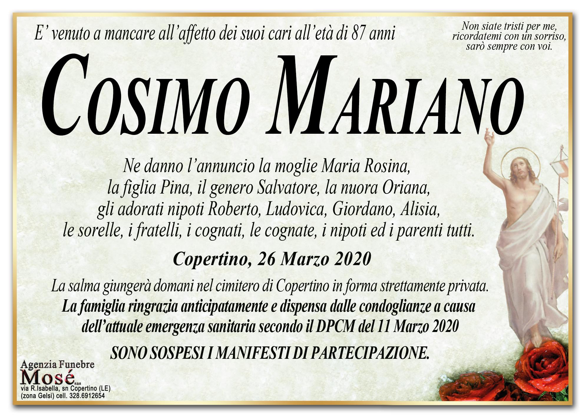 Cosimo Mariano