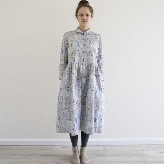 Платье рубашка Тапиола