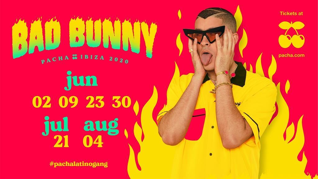 Tickets Bad Bunny in Pacha Ibiza 2020