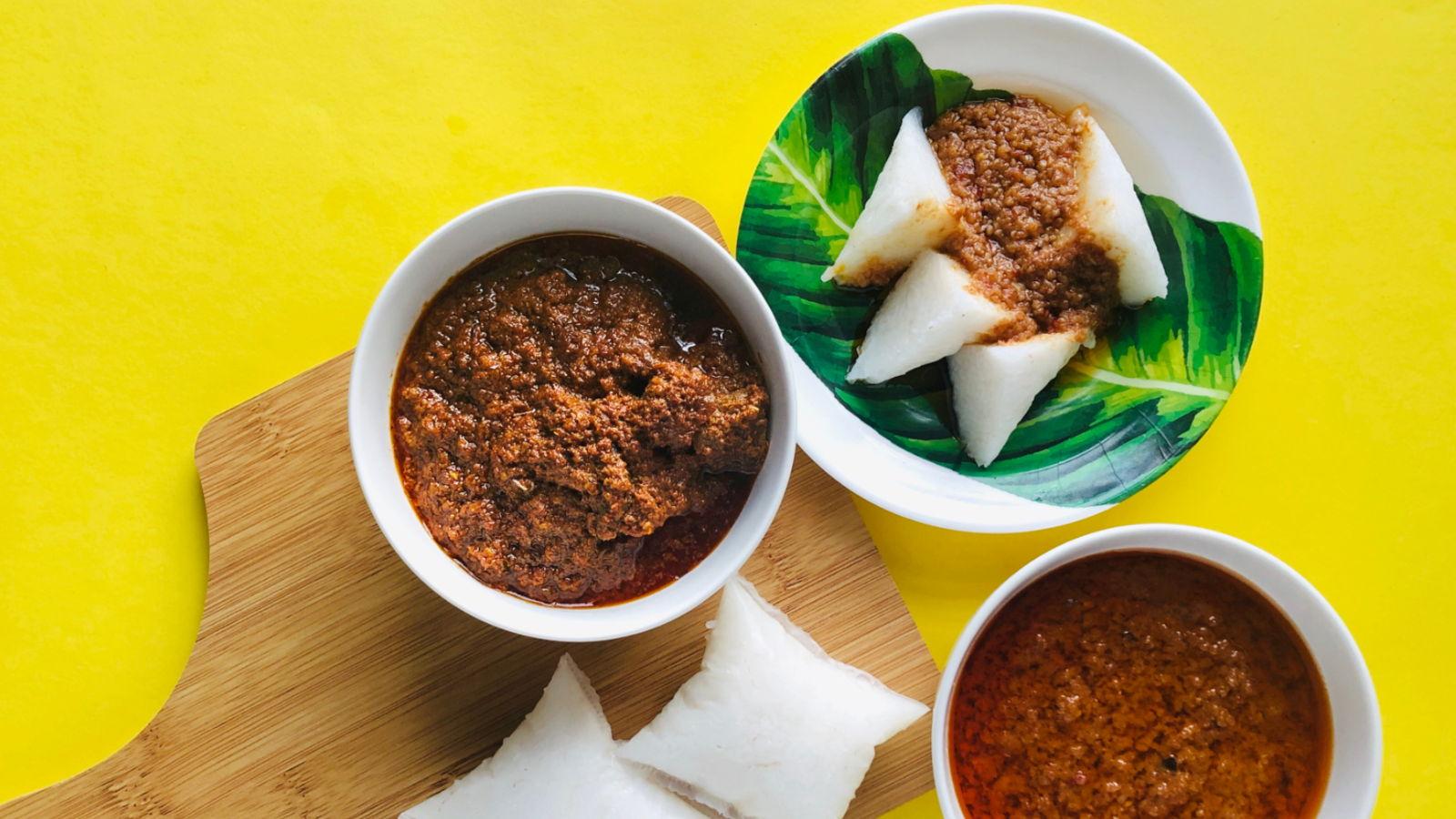 Spicy Peanut Sauce (Sambal Kacang)