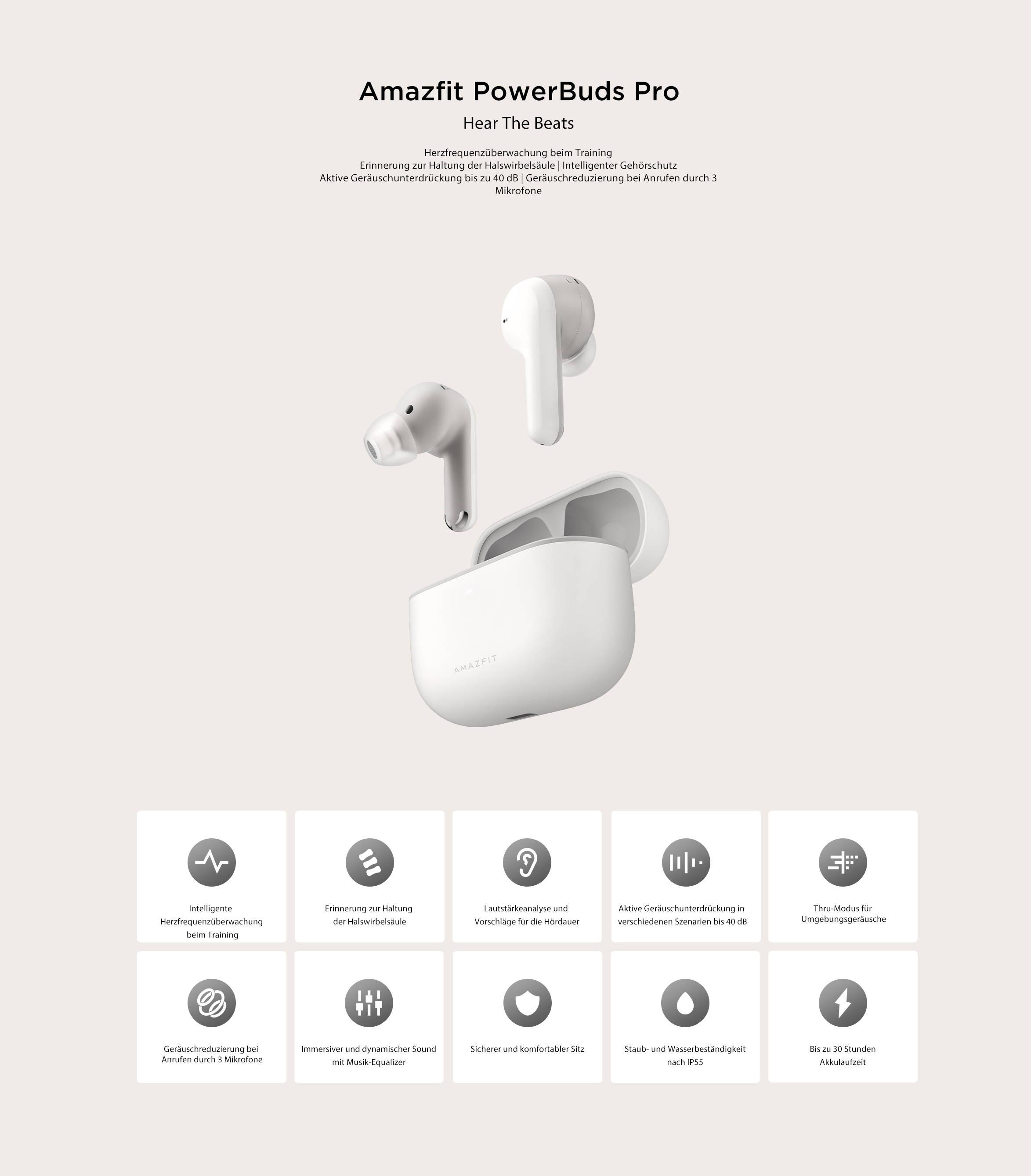 Amazfit GTS 2 - Wo Stil auf Gesundheit trifft 3D-Curved-Design ohne Rahmen Umfassendes Gesundheits- und Fitness-Tracking Speicherung und Wiedergabe von Musik
