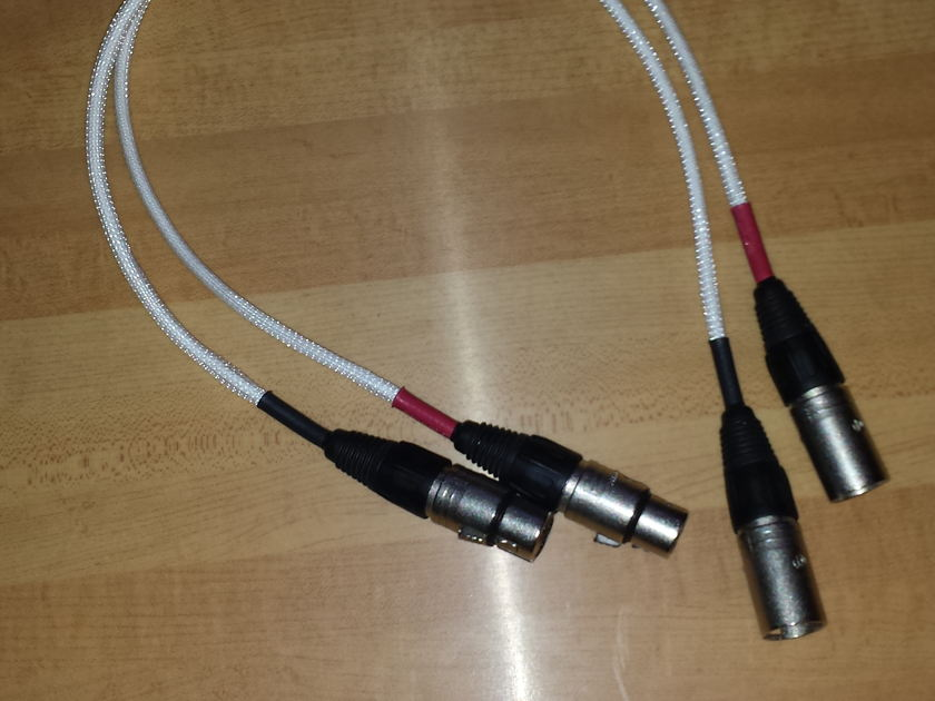 Signal Cable Inc. Silver resolution 2' xlr analog interconnects