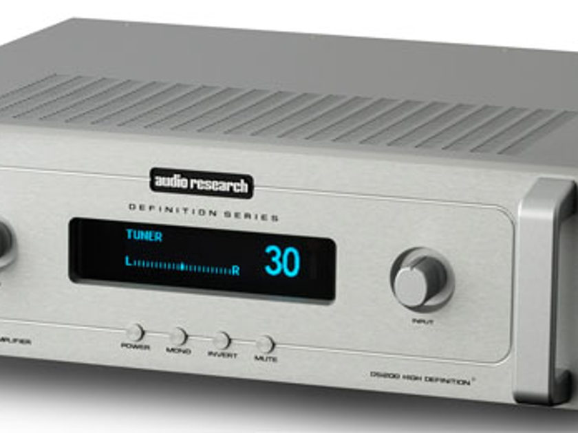 Audio Research DSi200 Integrated Amplifier New Open Box