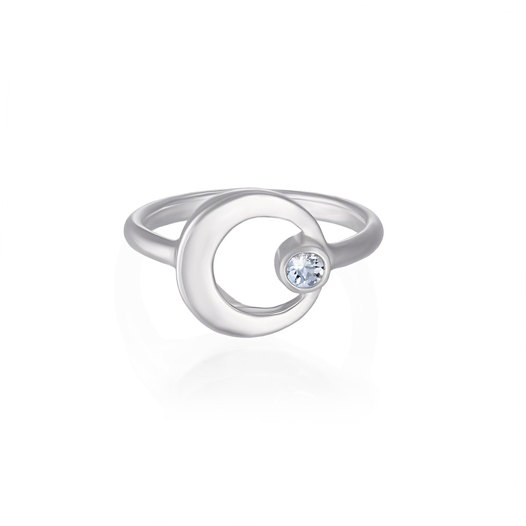 Кольцо AXIS - Лунный камень