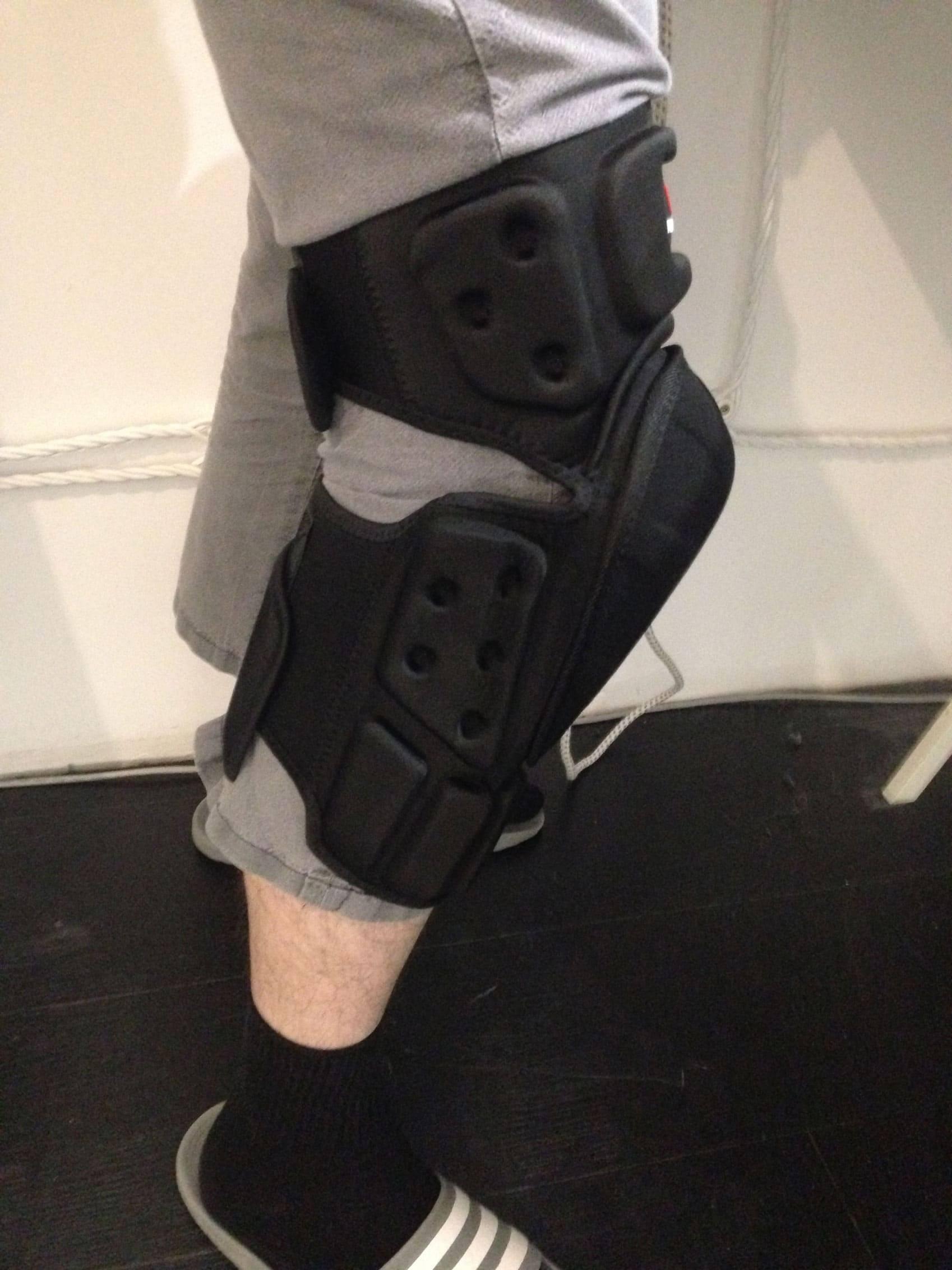 genouilleres de trottinette patinette