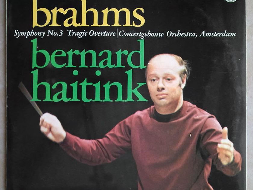 PHILIPS | HAITINK/BRAHMS - Symphony No. 3, Tragic Overture / NM