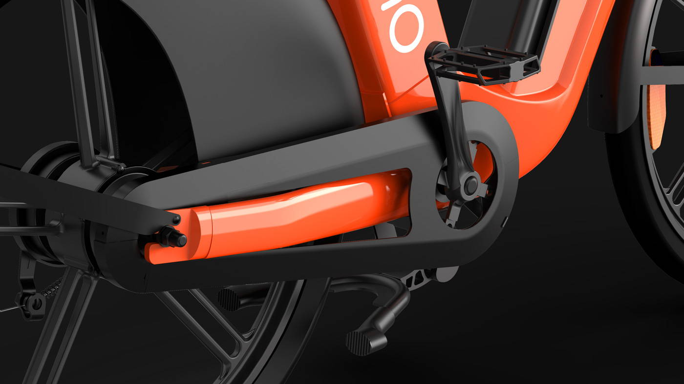 Okai Micromobility Manufacturer, EB100 Electric Bike Crank