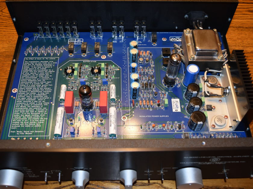 Counterpoint SA-2000 Black TUBE Stereo Preamp Line stage no phono