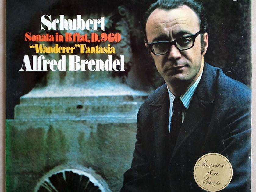 PHILIPS   BRENDEL/SCHUBERT - Sonata in B flat D.960, Wanderer Fantasia / NM