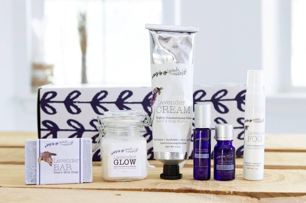 Organic, Vegan Lavender Bath and Body Products - Lavender-Life.com