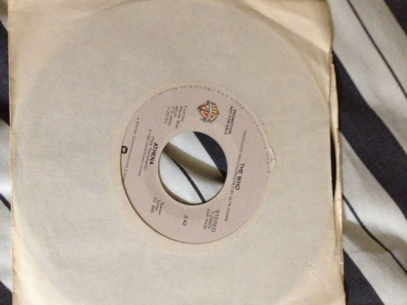 The Who - Athena Promo 45 NM